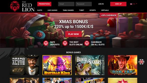 Avis complet sur The Red Lion Casino : jeux, promotions, sécurité