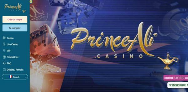 Notre avis sur le casino en ligne Prince Ali
