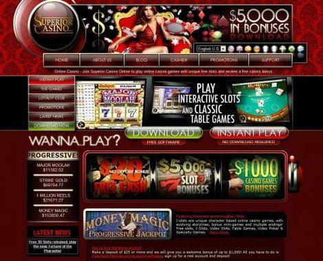 Découvrez le casino en ligne Superior !