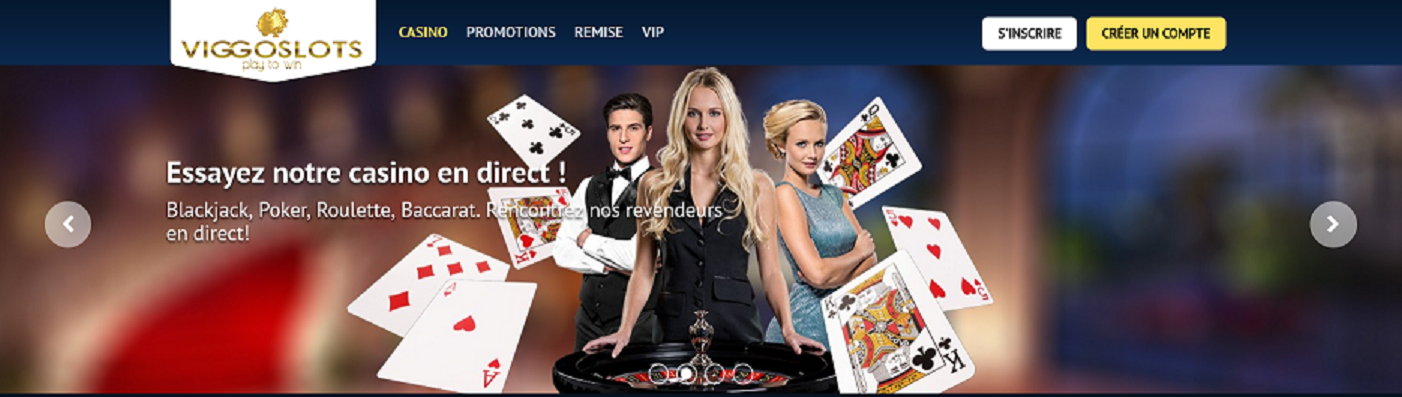 Notre avis sur le casino Viggoslots