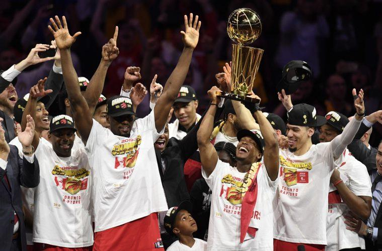 Les Raptors, Champion NBA 2019