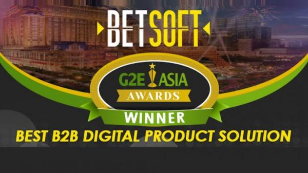 Betsoft remporte un prix au G2E Asia Award.