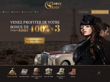 La revue sur le Casino en ligne Classy Slots