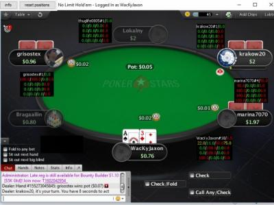 calculette poker