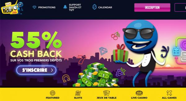 Notre avis sur le casino en ligne Radio Caz