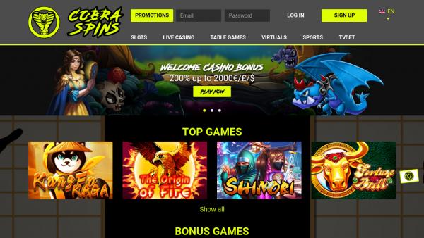 Notre avis sur le casino en ligne Cobraspins
