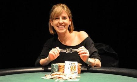 championne poker
